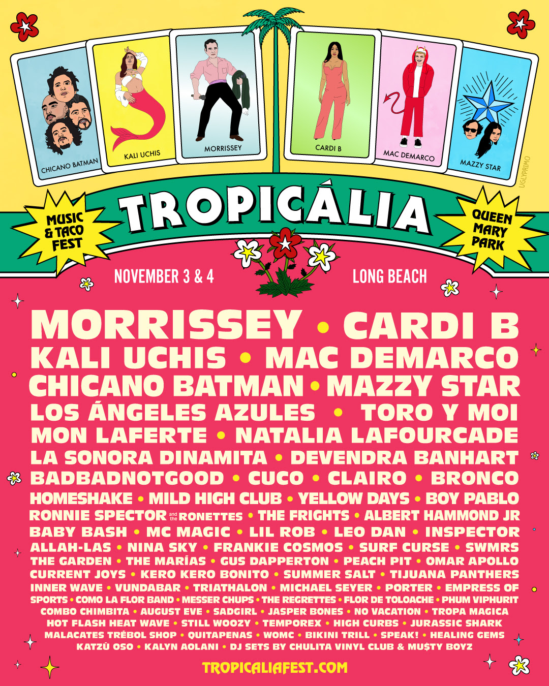 Tropicalia Music Taco Festival At The Queen Mary In Long Beach