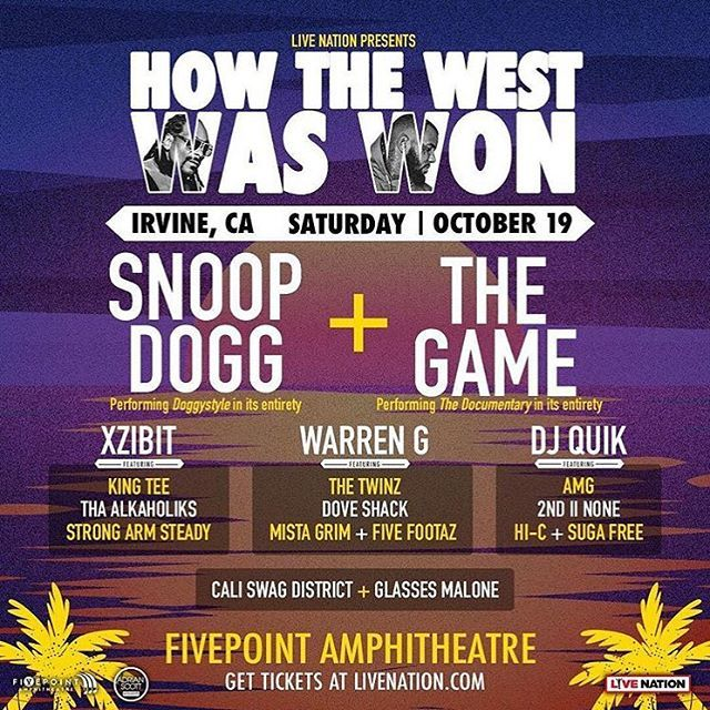 How The West Was Won at FivePoint Amphitheatre   October 19