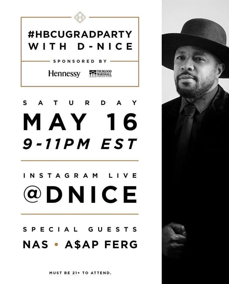 Hbcugradparty W D Nice Nas Asap Ferg May 16 2020